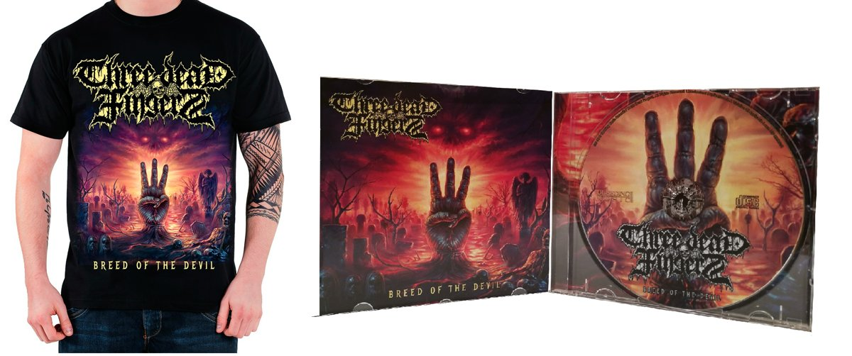 CD and T-shirt Breed of the Devil (M, L or XL)