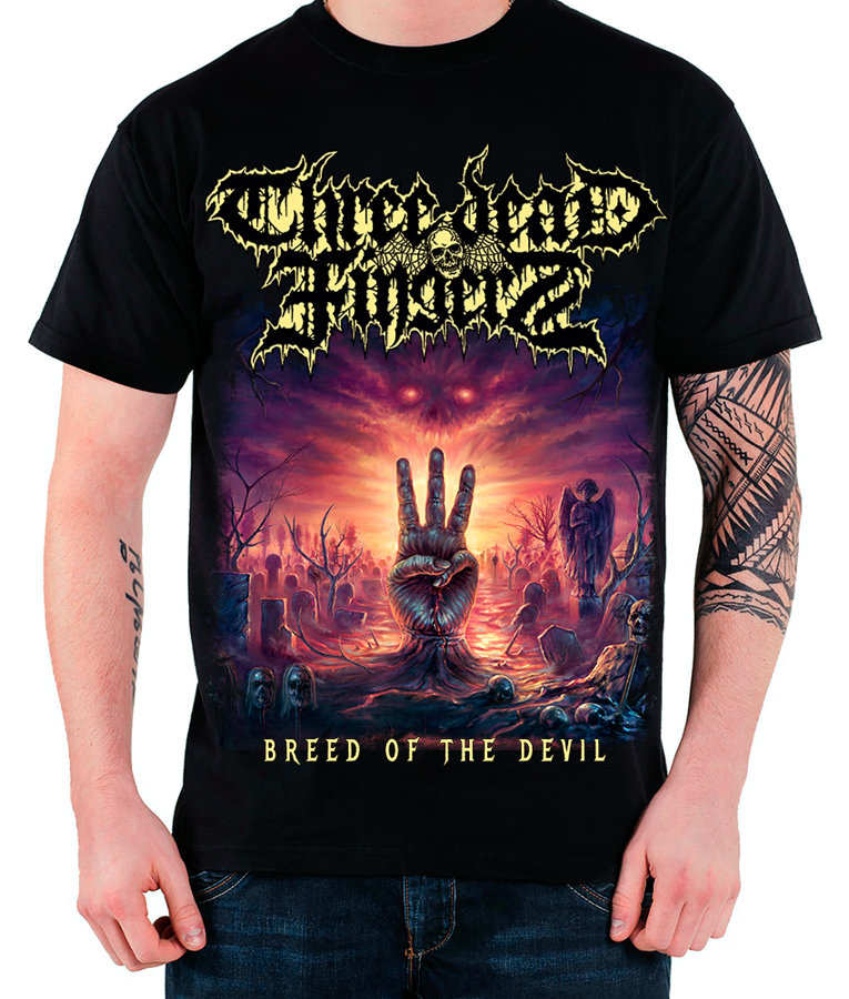 T-shirt Breed of the Devil (M, L, or XL- Size)